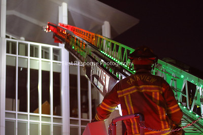 Fairview Fire Department. Ladder training session. 10/10/17