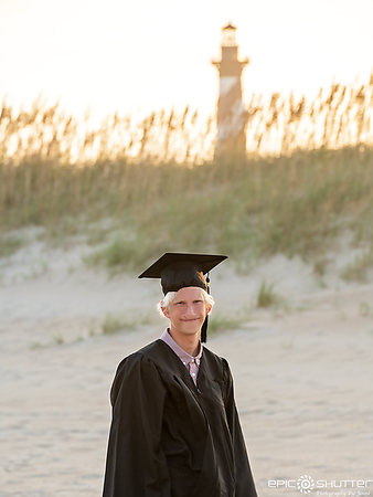 Noah, Cape Hatteras Lighthouse Senior Portraits