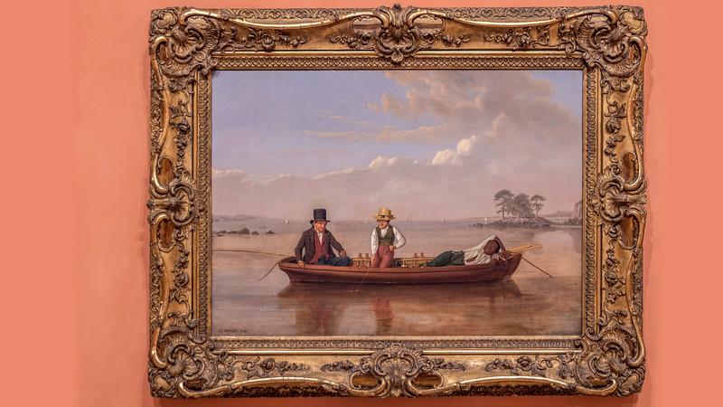 02140 James Goodwyn Clonny Loverpool 1847 Fishing Party on Long Island Sound off New Rochelle 16x9.jpg