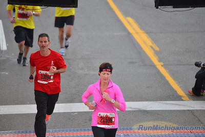 Half Marathon Finish, Gallery 3 - 2013 Free Press Marathon