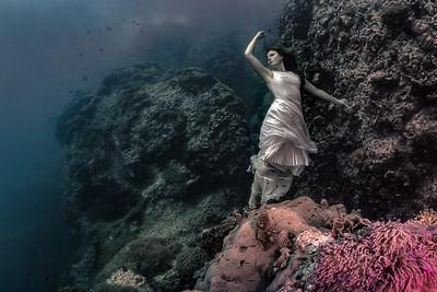 Underwater Portrait and Model
