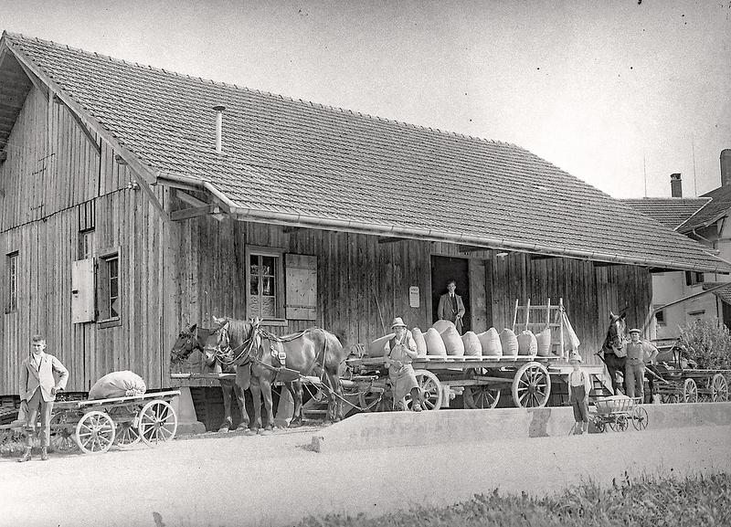 155b Nebikon Landw Genossenschaft Pfister um 1922.png