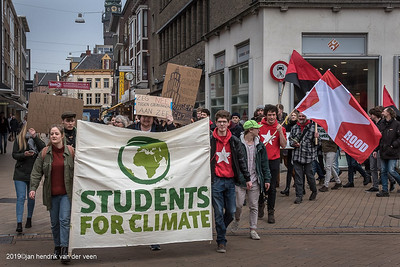 Demonstatries-Klimaat-Students for Climate 2016