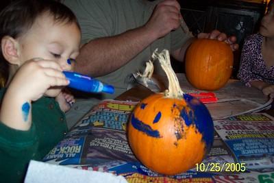pumpkin paintin