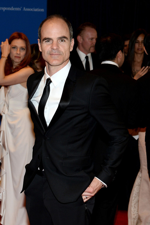 . Actor Michael Kelly attends the 100th Annual White House Correspondents\' Association Dinner at the Washington Hilton on May 3, 2014 in Washington, DC.  (Photo by Dimitrios Kambouris/Getty Images)