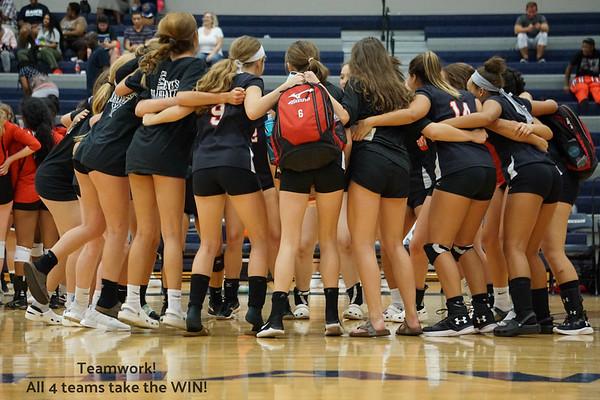 Vista Ridge vs. Hendrickson  Volleyball Aug. 21, 2018