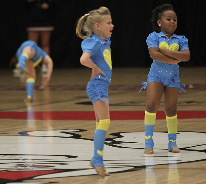 Step-N-Out Dance Production from Shelby, NC performed at halftime