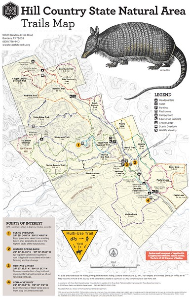 Hill Country State Natural Area (Trails)