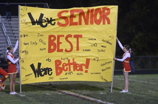 Friday October 17, Senior Night
