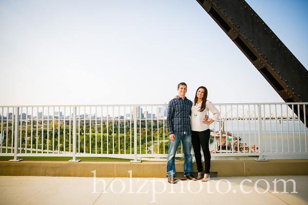 Desiree & Brett Color Engagement Photos