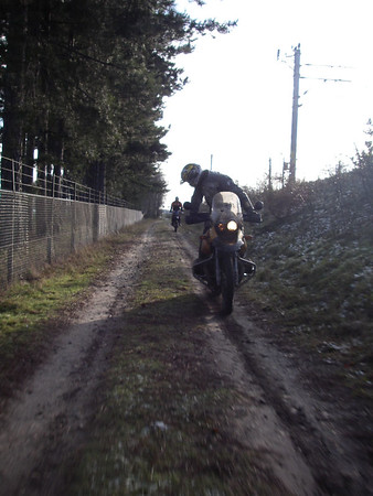 Winterbikkelrit 18 dec 2005