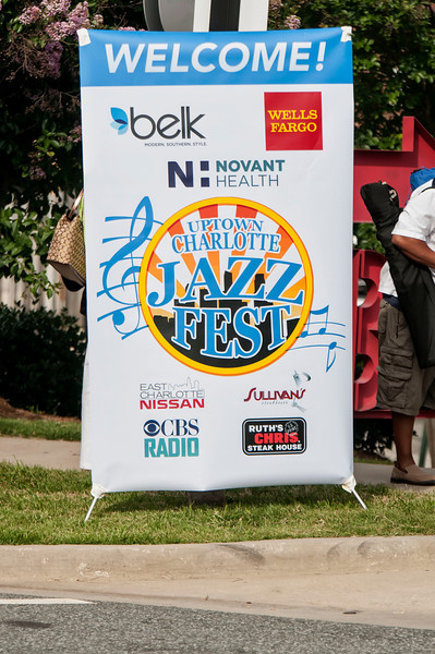 4th Annual Uptown Charlotte Jazz Fest 6-22-13 by Jon Strayhorn