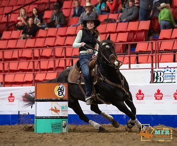18MFR Ladies Barrel Racing