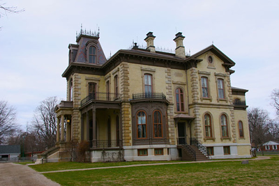 David Davis Mansion State Historic Site in Bloomington