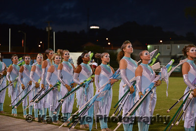 Corbin Marching Redhounds - in Exhibition