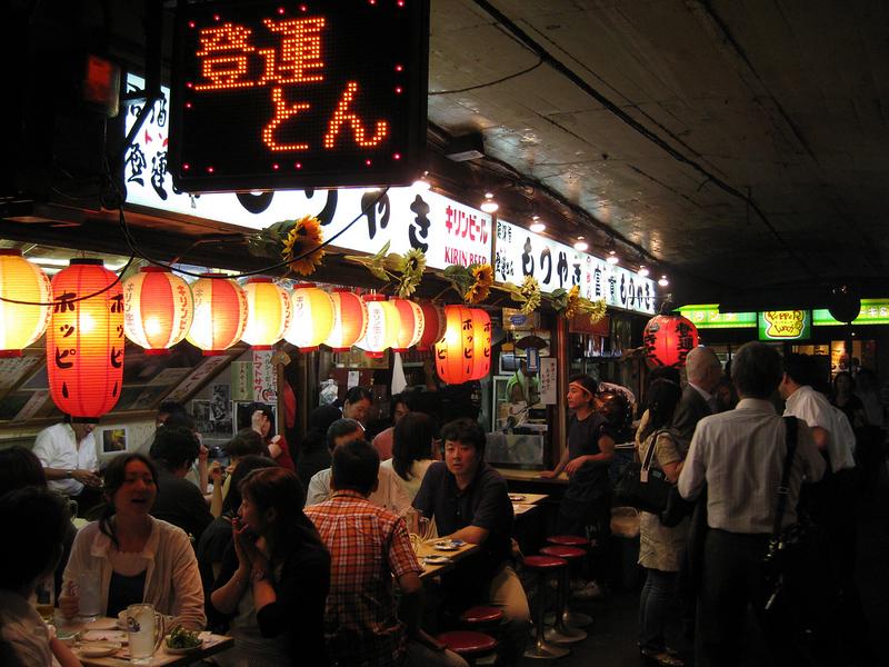 Yurakocho Yakitori Alley