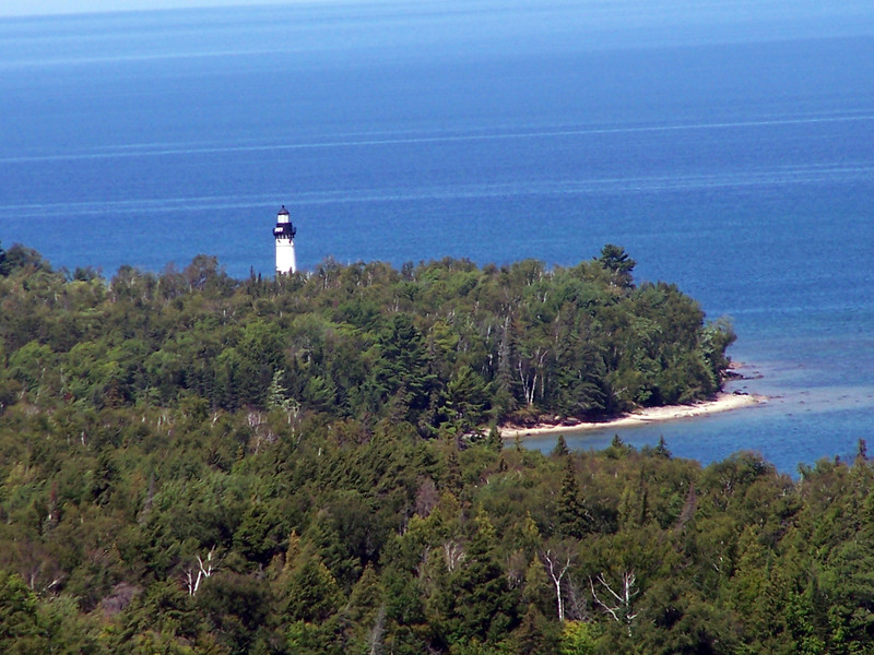 Au Sable Point and Lighthouse