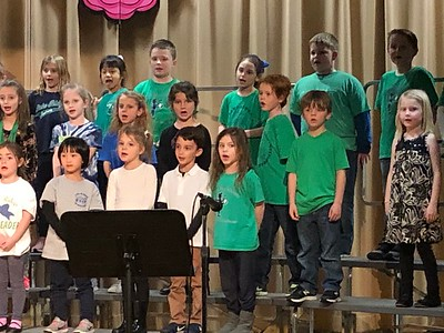 Multi-Age Spring Performance (2nd Grade)