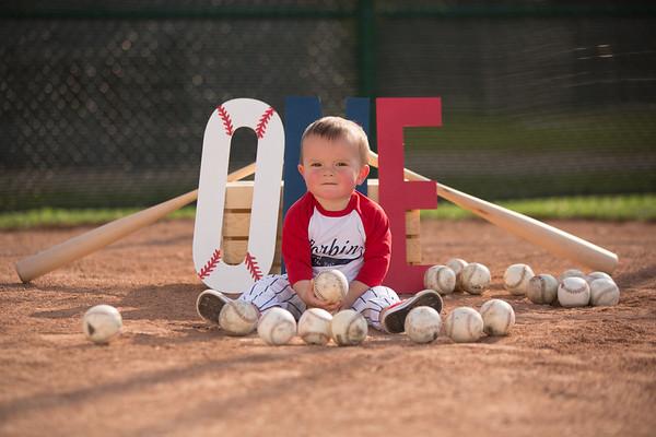 Corbin 1 Year Baseball