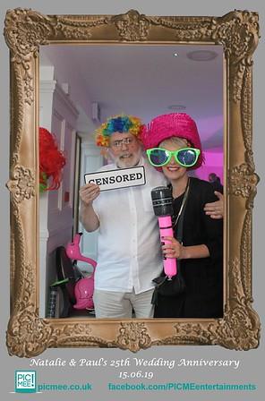 Natalie & Paul's Wedding Anniversary