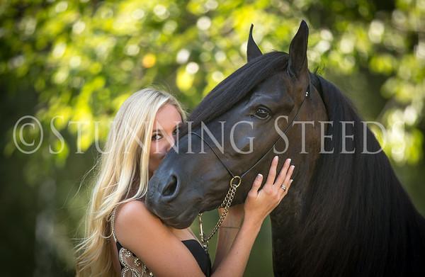 Scarlett & Bucephalus Black Dress