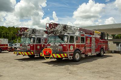 New Apparatus Shoot - Ladders 32&37, Pasco County FL - 7/1/21