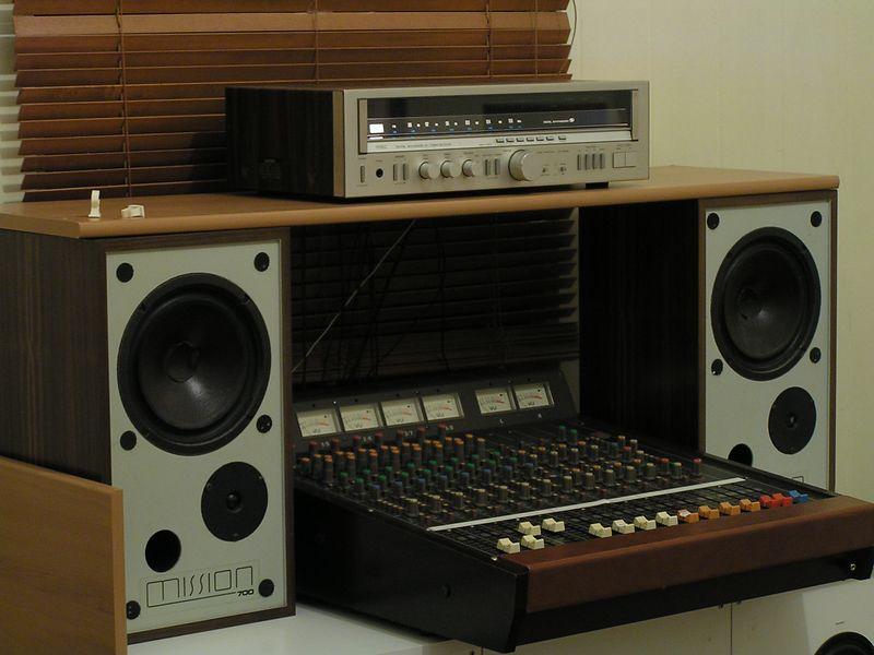 Greg's hi-fi system.