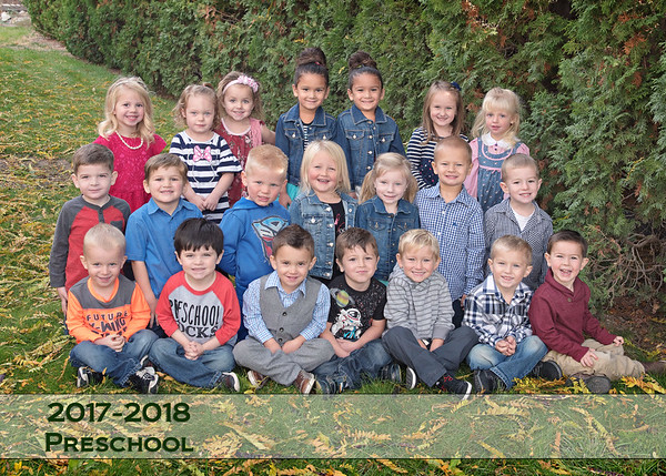 Homedale Preschool Fall 17