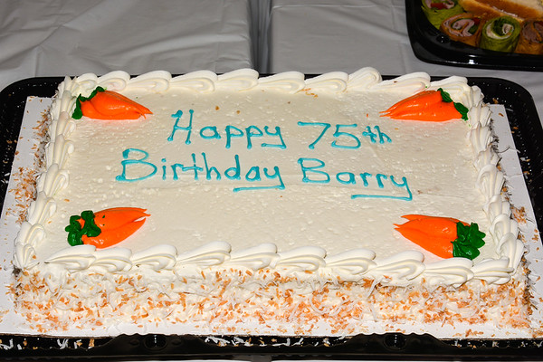 Barry Tate - 75th Birthday Party