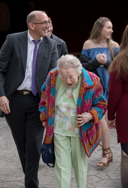 Mother making her way to the ceremony.jpg