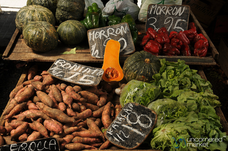 Wide Selection of Vegetables - Montevideo, Uruguay