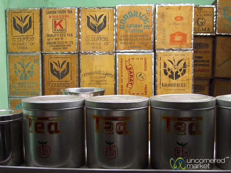 Tea Buying in Siliguri, India