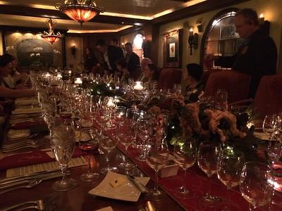 2015 Angus Barn Port Dinner
