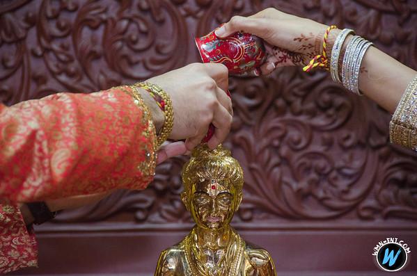 Mira & Rudresh Blessing Ceremony