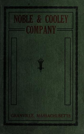 1920 Noble & Cooley Catalog
