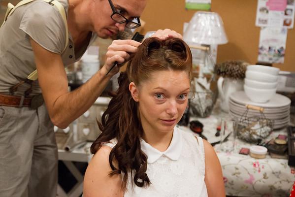 Hair by: Kieran D'la Vega Mobile Hairdresser