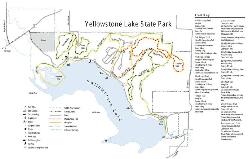 Yellowstone Lake State Park