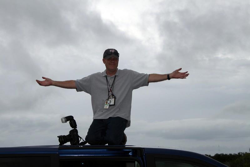 Senior NASA photographer and photo editor Paul Alers