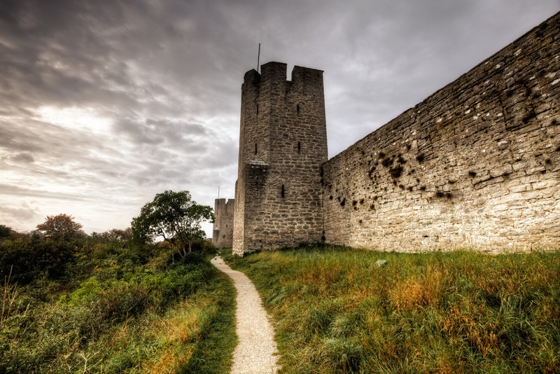 The Visby Wall