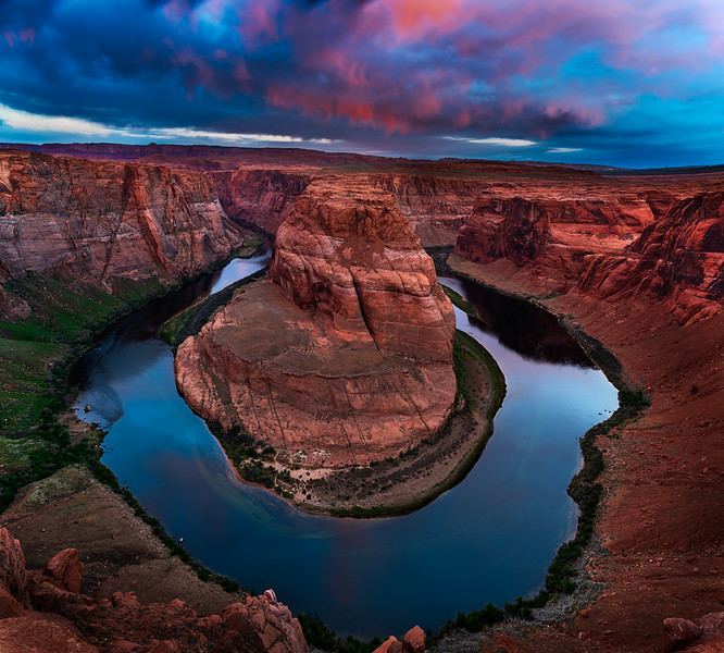 Sunrise Horseshoe Bend