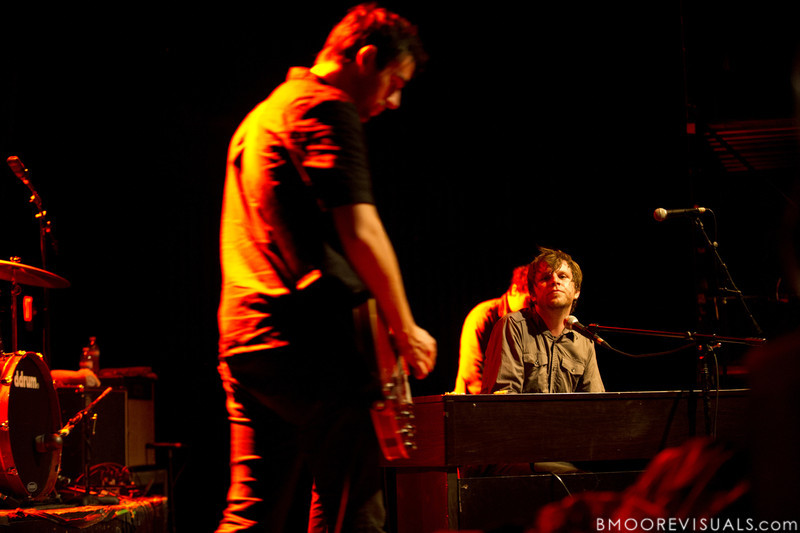 Bryan Laurenson and Aaron Marsh of Copeland perform during their Farewell Tour on April 8, 2010 at State Theatre in St. Petersburg, Florida