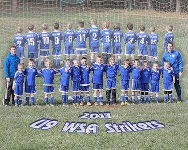 WSA Strikers EOY Games