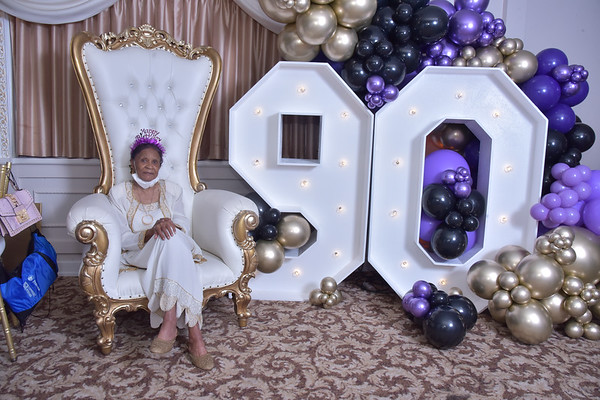 Gloria 90th BIrthday Bash