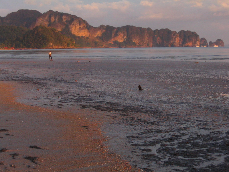 The cliffs of Railay Bay