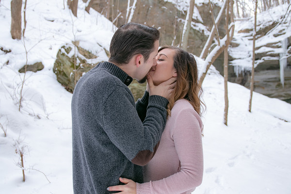 Angie & Chris, Engagement