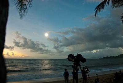 Total Solar Eclipse 14 Nov 2012