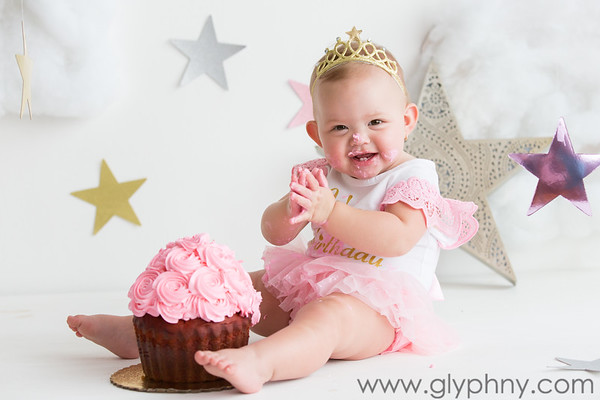 Elizabeth Ann's First Birthday