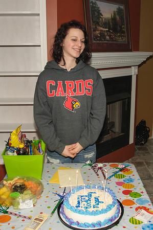 Megan's 18th Birthday.