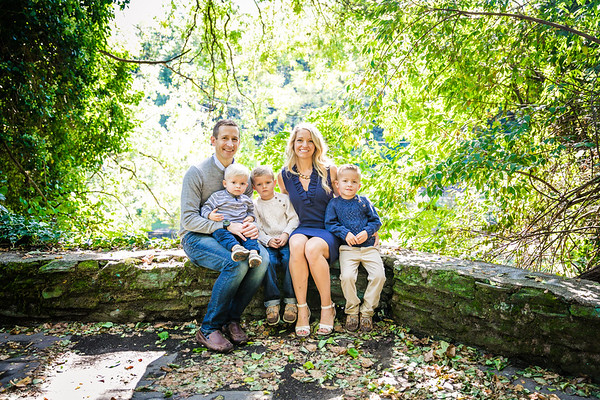 Everhart Family   Glendinning Rock Garden   09.29.2019