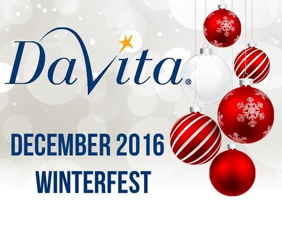 Davita Winterfest Red